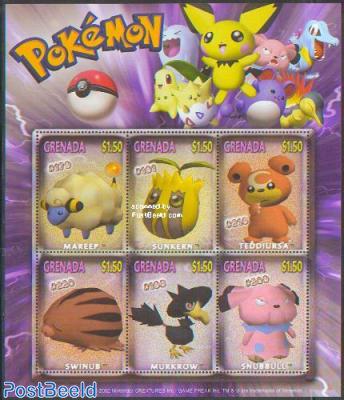 Pokemon 6v m/s /Mareep