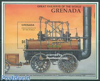 Stephenson locomotive No. 1 s/s