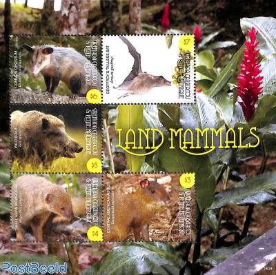 Land mammals 5v m/s