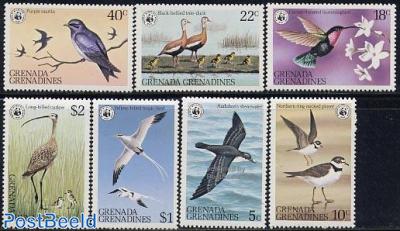 WWF/Birds 7v