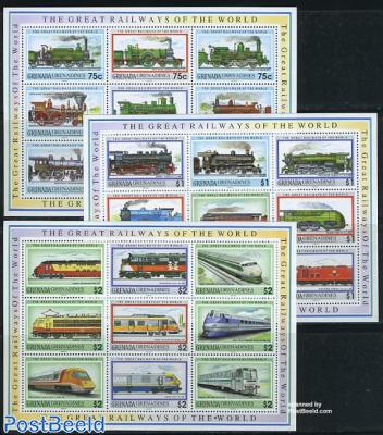 Locomotives 27v (3 m/s)
