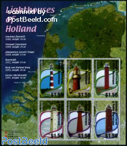 Dutch lighthouses 6v m/s