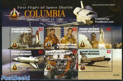 Space Shuttle Columbia 6v m/s