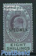 8Shr, SPECIMEN, Stamp out of set