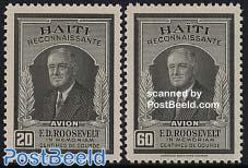 F.D. Roosevelt 2v