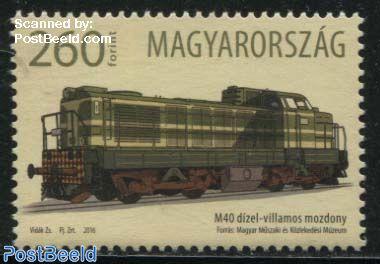 M40 Diesel-Electric Locomotive 1v