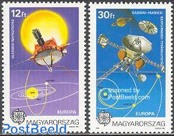 Europa, space 2v