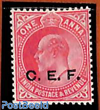 1A, C.E.F., Stamp out of set