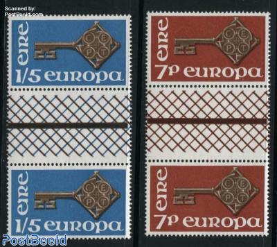 Europa 2 Gutter pairs
