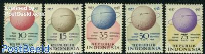 International geophysical year 5v
