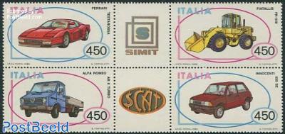 Automobiles 4v+2tabs [++]