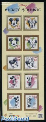 Disney, Mickey & Minnie 10v s-a m/s