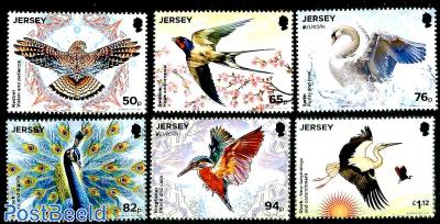 National birds 6v