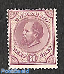 50c, Perf. 13.5:13.25, Stamp out of set