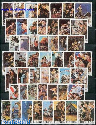 Scouting 50v, Norman Rockwell paintings