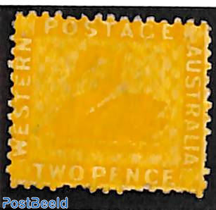 2p, Perf. 12.5, Stamp out of set
