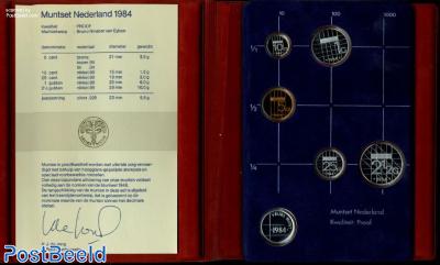 Yearset 1984 Netherlands Proof