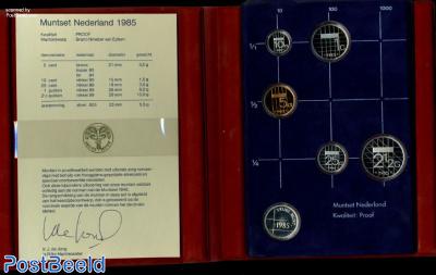 Yearset 1985 Netherlands Proof