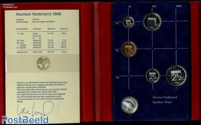 Yearset 1986 Netherlands Proof