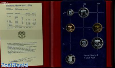 Yearset 1988 Netherlands Proof