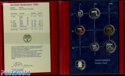 Yearset 1990 Netherlands Proof