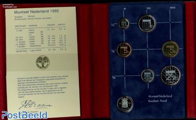 Yearset 1992 Netherlands Proof