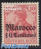 10c, German Post, Stamp out of set