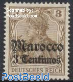 3c, German Post, Stamp out of set