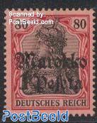 1pta, German Post, Stamp out of set