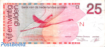 25 gulden 1.1.1990