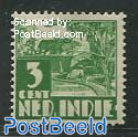 3c, Without WM, Stamp out of set