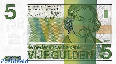 5 Gulden 1973