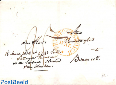 Letter from Utrecht to Harmelen (letter from judge about stolen letters)
