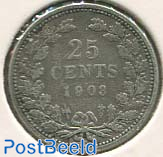 25 cents 1903