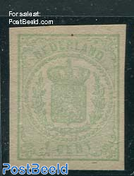 1c Green, imperforated