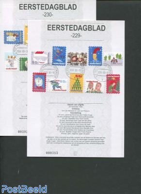 Christmas stamps EDB