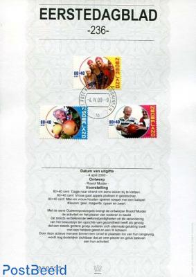 Elderly stamps EDB