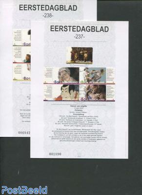 Art stamps EDB (EDB 237+238)