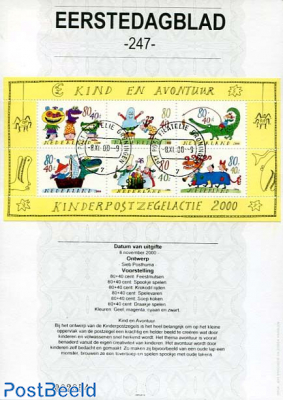 Children stamps EDB