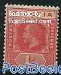 1p, WM4, Plate I, Stamp out of set
