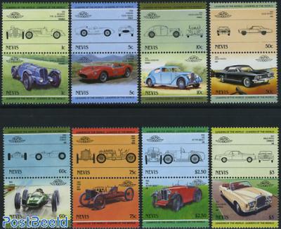 Automobiles 8x2v [:] (Ferrari,MG,Rolls Royce,Ford,