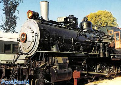 Santa Fé locomotive 1899