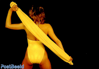 Yellow Gymsuit