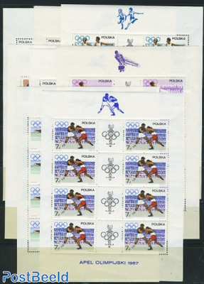 Olympic Games 8 minisheets