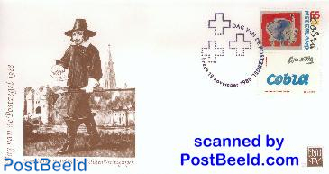 STAMP DAY ENVELOPE 1988