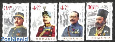 Heroes of World War I 4v