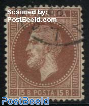 15B, Stamp out of set