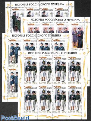 Custom uniforms 4 minisheets