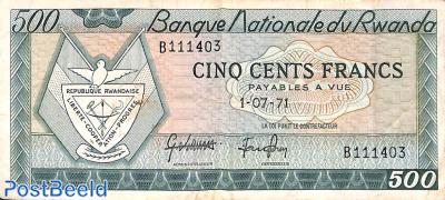 500 Francs