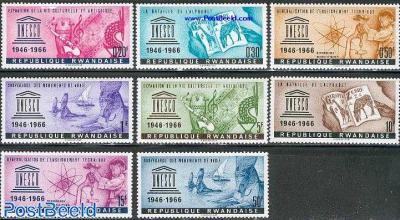 UNESCO 8v